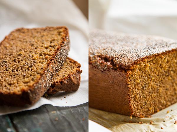 לחם טחינה וקינואה