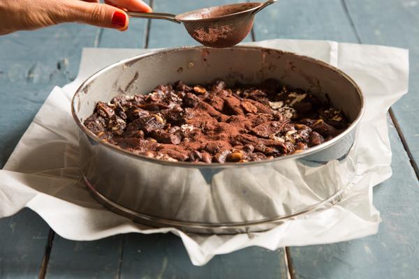 עוגת שוקולד מלח