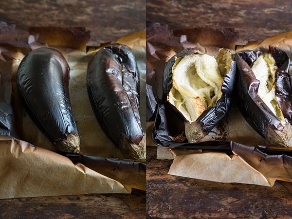 חמוסטה חצילים וקציצות דגים